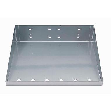 Triton Products LocHook Shelf w/Garment Hanger; Silver