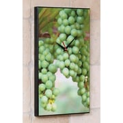 Wilson Studios Wine Grapes Wall Clock