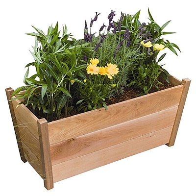 Buyers Choice Phat Tommy 2 ft x 2 ft Cedar Planter Box