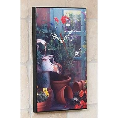 Wilson Studios Garden Window Wall Clock