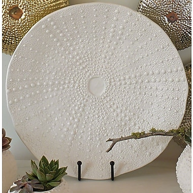 Global Views Ceramic Urchin Platter; Large