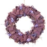 National Tree Co. Easter Wreath w/ Lavender Burlap; Purple
