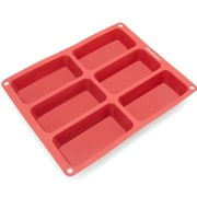 Freshware 6 Cavity Mini Silicone Mold Pan