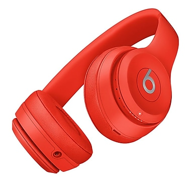 Beats – Casque d'écoute supra-auriculaire Solo3 Wireless, rouge (MP162LLA)