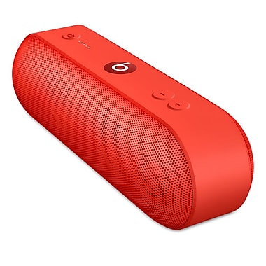 Beats Pill+ Portable Bluetooth Speaker, Red (ML4Q2LL/A)