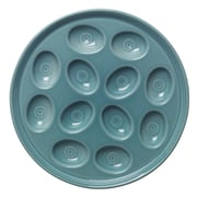 Fiesta Egg Tray; Turquoise