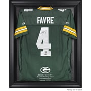 Mounted Memories NFL Brett Favre 421st TD Record Breaker Jersey Display Case; Black