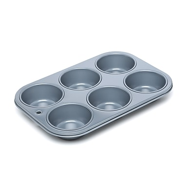 Fox Run Craftsmen Non Stick 6 Cups Muffin Pan