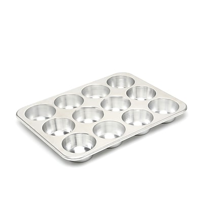 Nordic Ware Natural Commercial 12 Cup Muffin Pan WYF078275533264