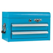 Viper Tool Storage 18''W 2-Drawer Top Chest; Teal