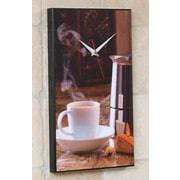 Wilson Studios Espresso Coffee Wall Clock