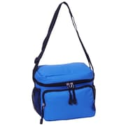 Everest 6 Can Insulated Bag Cooler; Royal Blue