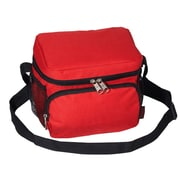 Everest 6 Can Insulated Bag Cooler; Red