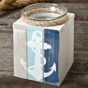 FashionCraft Anchor Wood Tealight