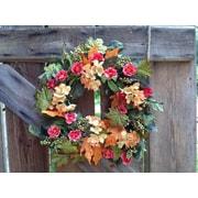 Flora Decor 22'' Autumn Hydrangea Mix Wreath
