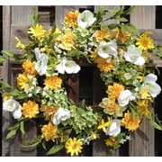 Flora Decor 24'' Wild Meadows Wreath