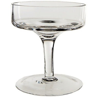 CYSExcel Stemmed Glass Candle Holder (Set of 36); 4'' H x 3.5'' W x 3.5'' D