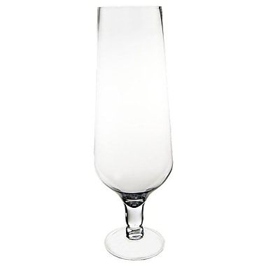 CYSExcel Champagne Flute Glass Hurricane (Set of 4)