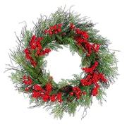 Dalmarko Designs Berry and Pine Cone Wreath