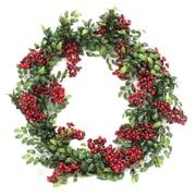 Dalmarko Designs 24'' Berry/Pittosporum Wreath