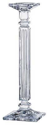 Majestic Crystal Glass Candlestick; 16'' H x 5'' W x 5'' D WYF078280043344