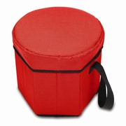 Picnic Time Bongo Picnic Cooler; Red