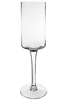 CYSExcel Glass Hurricane; 20'' H x 6'' W x 6'' D WYF078280039430