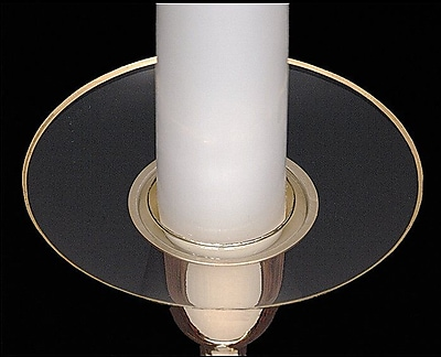 Biedermann and Sons Rimmed Bobeche Candle Holder