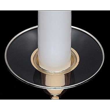 Biedermann and Sons Rim Bobeche Candle Holder (Set of 4)