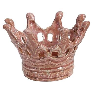 Established 98 Rosey Crown Candelabra