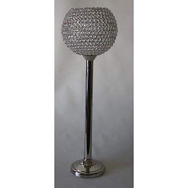 DestiDesign Crystal Bowl Candle Holder w/ Stand; Medium