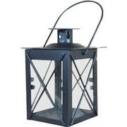 ThePaperLanternStore Metal Lantern; Black