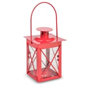 ThePaperLanternStore Metal Lantern; Red
