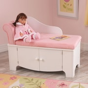 KidKraft Princess Kids Polyester Chaise Lounge