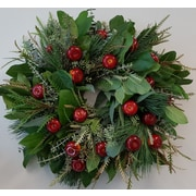 From the Garden 18'' Apple Wreath