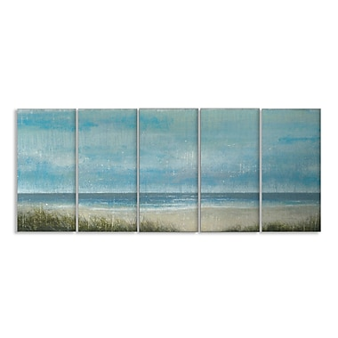 Stupell Industries Outer Banks Framed Painting Print on Canvas Set