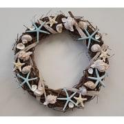 From the Garden 18'' Seashell Wreath