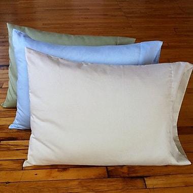 White Lotus Kapok Down Alternative Queen Pillow
