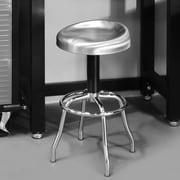 Seville Classics Adjustable Height Swivel Bar Stool
