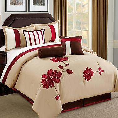 Homechoice International Group Selma 7 Piece Comforter Set; Queen