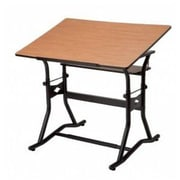 Alvin and Co. Craftmaster III Wood Drafting Table; 30 inch W x 42 inch D by