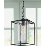 JoJoSpring La Pedriza Glass 1-Light LED Foyer Pendant