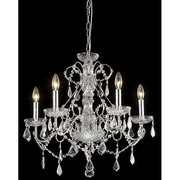 JoJoSpring New Orleans 5-Light LED Crystal Chandelier