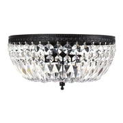 JoJoSpring Jessica Basket 3-Light LED Flush Mount