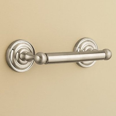 Pfister Redmond Wall Mounted Toilet Paper Holder; Brushed Nickel