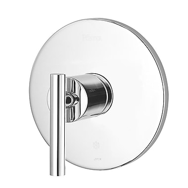 Pfister Contempra Faucet Trim Only Single Handle; Polished Chrome