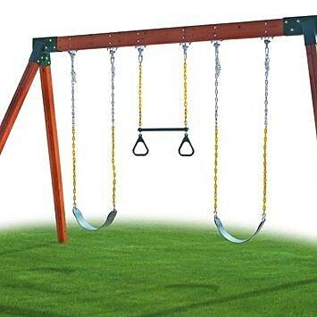 Eastern Jungle Gym Classic Cedar Swing Set