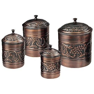 Old Dutch Heritage 4 Piece Kitchen Canister Set