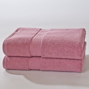 Darby Home Co Bloomberg Bath Sheet (Set of 2); Cherry Blossom