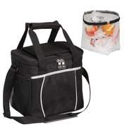Preferred Nation 12 Can Courtyard Cooler; Black